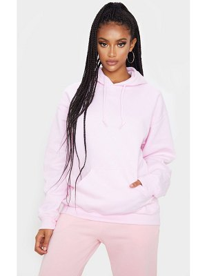 PrettyLittleThing baby pink ultimate oversized hoodie