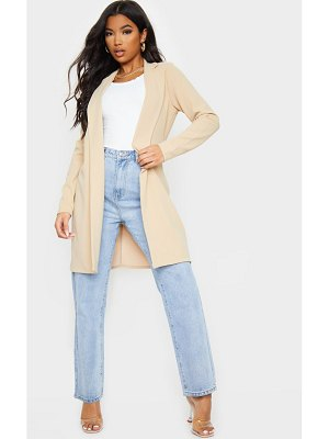 PrettyLittleThing longline collar duster jacket