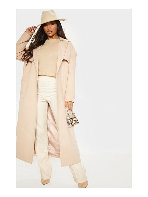 PrettyLittleThing maxi belted coat