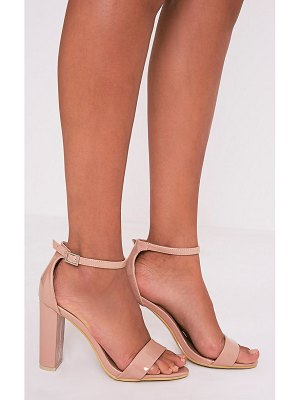 PrettyLittleThing may patent block heeled sandals
