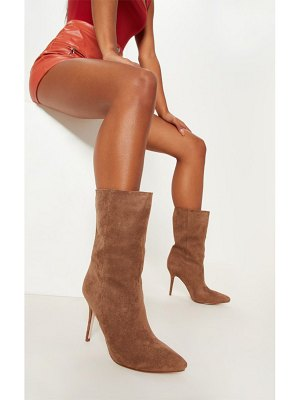 PrettyLittleThing mid heel ankle boot