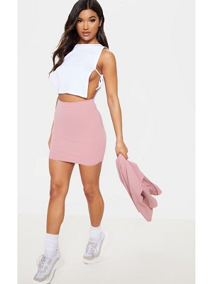 PrettyLittleThing mini suit skirt