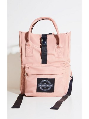PrettyLittleThing multi pocket with handle backpack