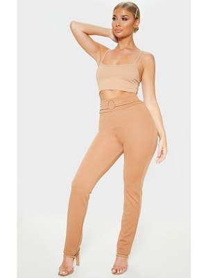 PrettyLittleThing o ring detail pants