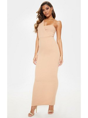 PrettyLittleThing one shoulder maxi dress