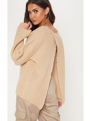 PrettyLittleThing open back sweater