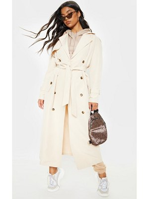 PrettyLittleThing oversized trench coat