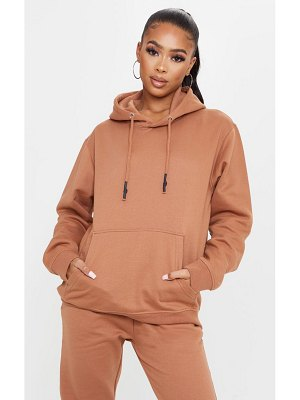 PrettyLittleThing oversized wax toggle hoodie