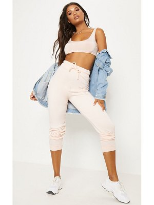 PrettyLittleThing pale pink ultimate sweat jogger