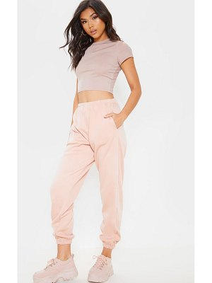 PrettyLittleThing pastel pink casual jogger