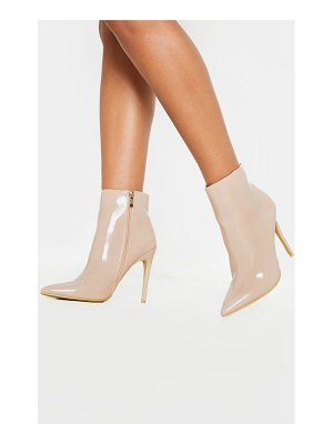 PrettyLittleThing point ankle boot