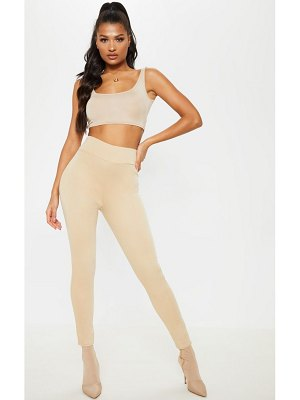 PrettyLittleThing ponte high waisted leggings