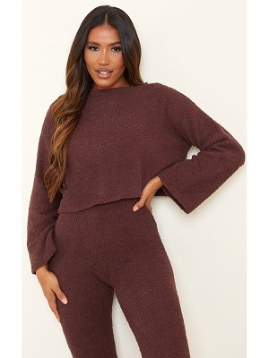 PrettyLittleThing premium fluffy oversized slouchy sweater