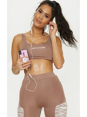 PrettyLittleThing prettylittlethinggym crop top