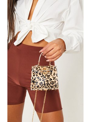 PrettyLittleThing print micro mini bag