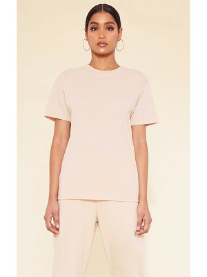 PrettyLittleThing recycled deep nude t shirt