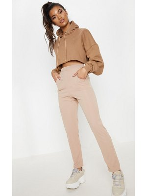 PrettyLittleThing ribbed cigarette pants