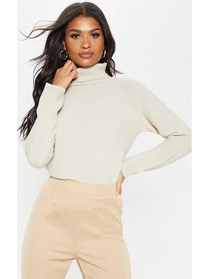 PrettyLittleThing ribbed oversized knit jumper