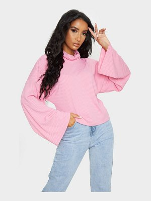 PrettyLittleThing roll neck oversized sweater