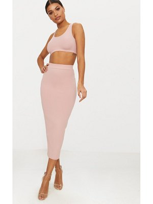 PrettyLittleThing second skin bodycon midaxi skirt