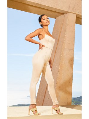 PrettyLittleThing second skin cut out side jumpsuit