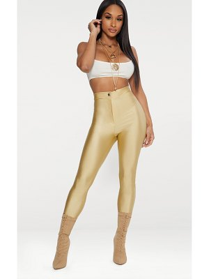 PrettyLittleThing second skin disco pants