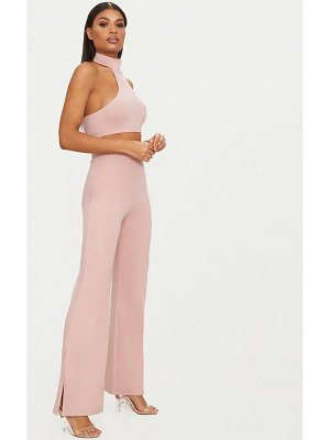 PrettyLittleThing second skin flared pants