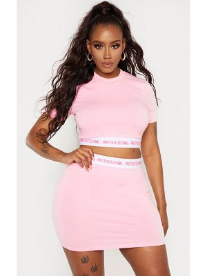 PrettyLittleThing prettylittlethingshape band crop top