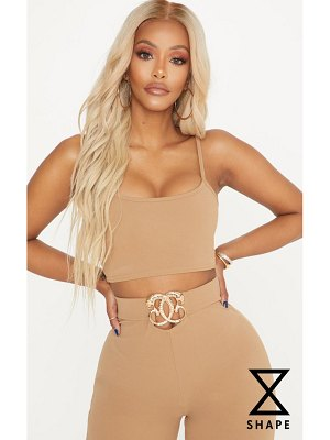PrettyLittleThing shape crop top