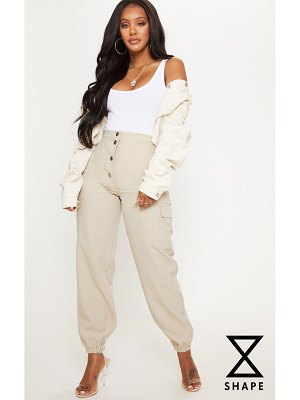 PrettyLittleThing shape pocket detail cargo pants
