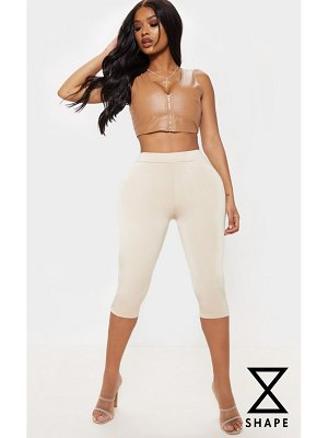PrettyLittleThing shape slinky crop legging