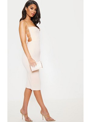 PrettyLittleThing side cut out detail midi dress
