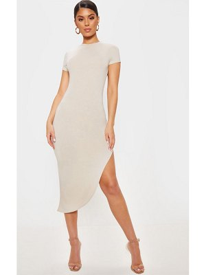 PrettyLittleThing side split midi dress