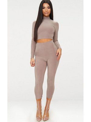 PrettyLittleThing slinky cropped leggings