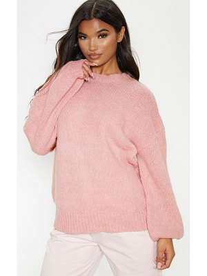 PrettyLittleThing sponge yarn oversized slouch sweater