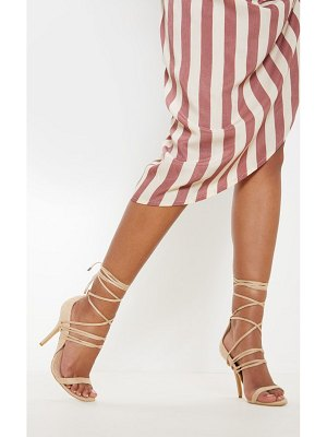 PrettyLittleThing strappy heeled sandal