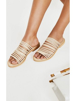 PrettyLittleThing strappy mule flat sandal