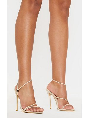 PrettyLittleThing toggle tie strappy sandal