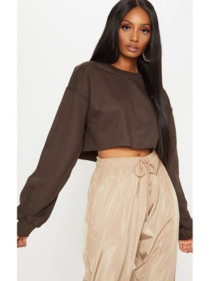 PrettyLittleThing ultimate crop sweater