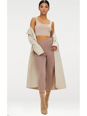 PrettyLittleThing veronica oversized waterfall coat