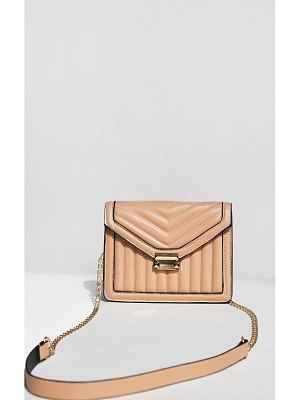 PrettyLittleThing vertical quilted cross body bag