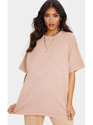 PrettyLittleThing washed oversized t shirt