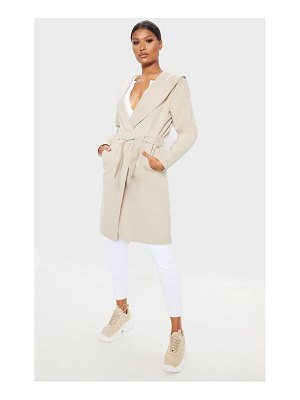PrettyLittleThing waterfall hooded coat