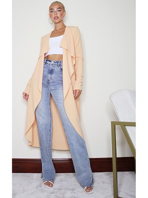 PrettyLittleThing waterfall maxi duster jacket