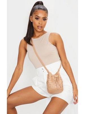 PrettyLittleThing weave cross body bag