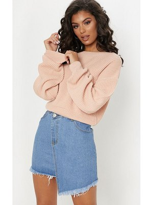 PrettyLittleThing wide sleeve knitted sweater