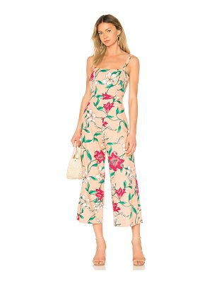 Privacy Please Hydrangea Jumpsuit
