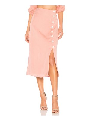 Privacy Please violeta midi skirt
