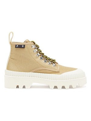 Proenza Schouler city lug-sole canvas boots