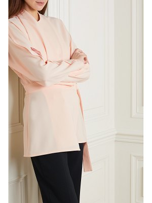 Proenza Schouler draped crepe wrap top